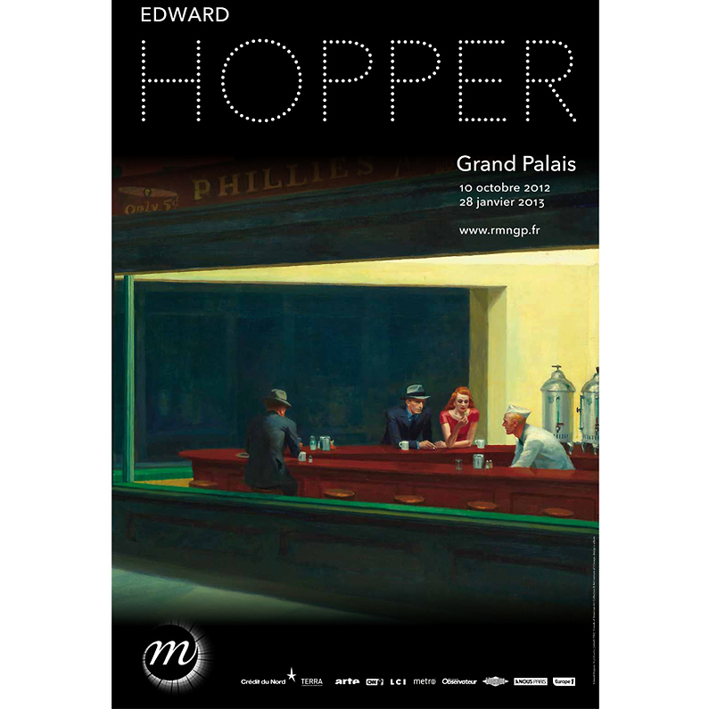Edward hopper au grand palais paris la petite quincaille de la culture - Edward hopper maison ...