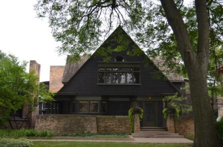 Oak park chicago les maisons de frank lloyd wright - Frank lloyd wright maison ...