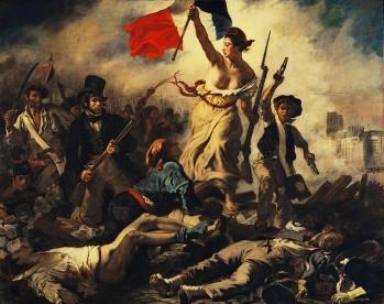 """""""La Liberté guidant le peuple."""""""